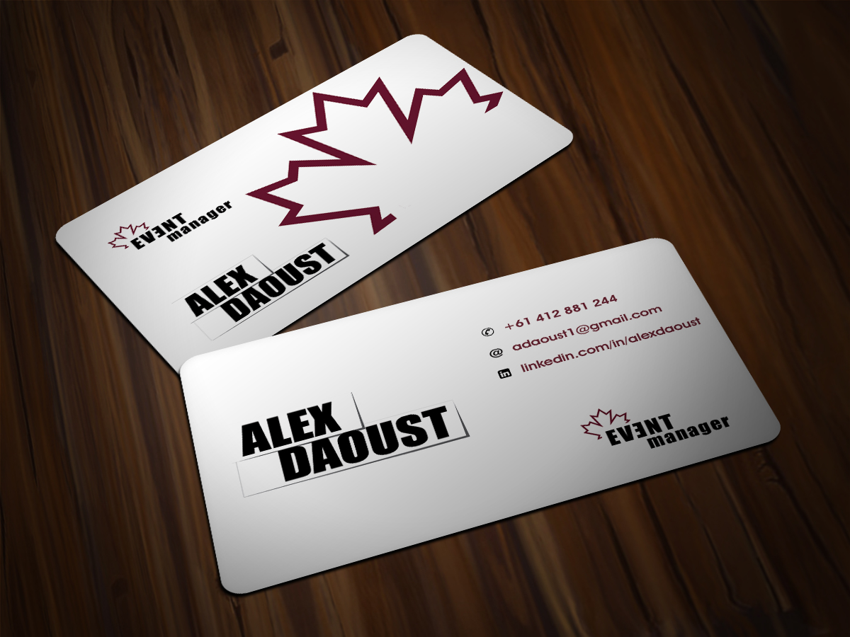 Modern, Masculine, Charity Business Card Design for a Company by ...