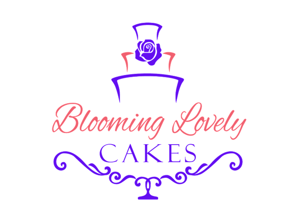 Cake Company Logo Design : Colorful, Elegant Logo Design for Blooming Lovely Cake by ...