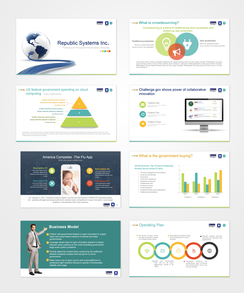 42 bold powerpoint designs it company powerpoint design project
