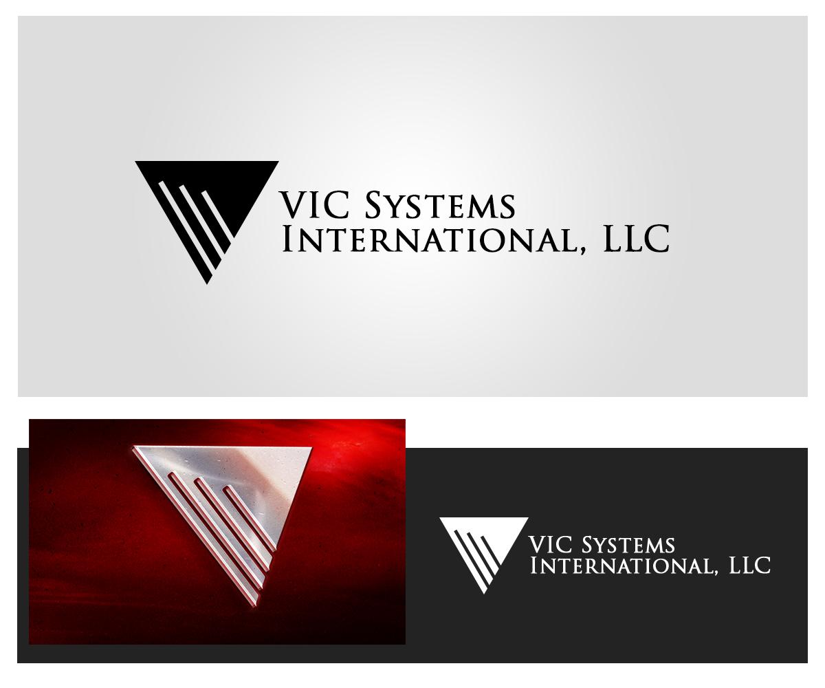 Masculino serio industrial dise o de logo for vic for Hispano international decor llc