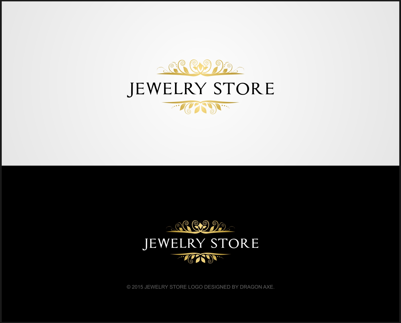 elegant playful jewelry logo design for jewelry store by