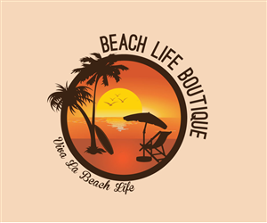 103 Colorful Playful Fashion Logo Designs for Beach Life Boutique ...