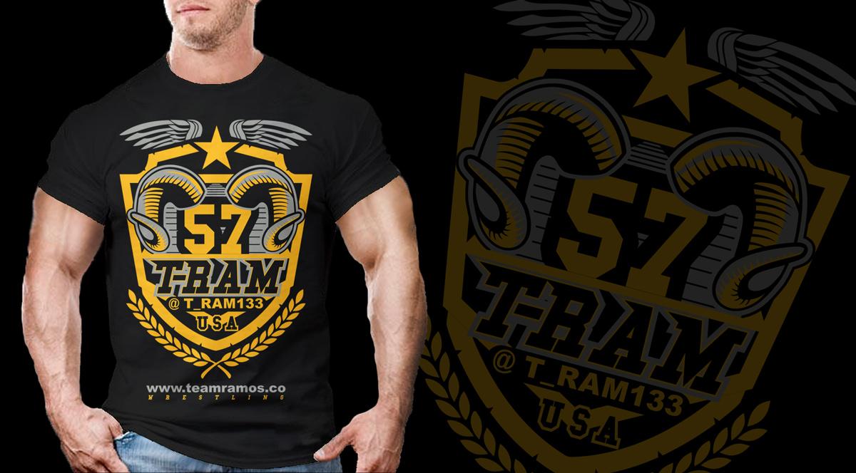 65343e342 Bold, Playful T-shirt Design for Team Ramos LLC by Kid Ink | Design ...