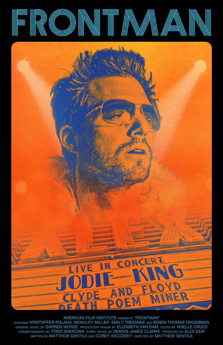Poster design needed - Poster Design By Brian K For Frontman An Afi Thesis Film Movie Poster