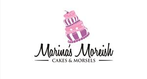 Marina's Moreish Cakes & Morsels | Logo Design by ESolz Technologies
