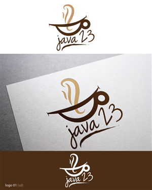 Logo Design by  Esolbiz - Java 23 specialty coffee quality in a cup coffe ...