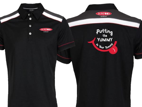 Modern Spielerisch Restaurant T Shirt Design Fur A Company Von