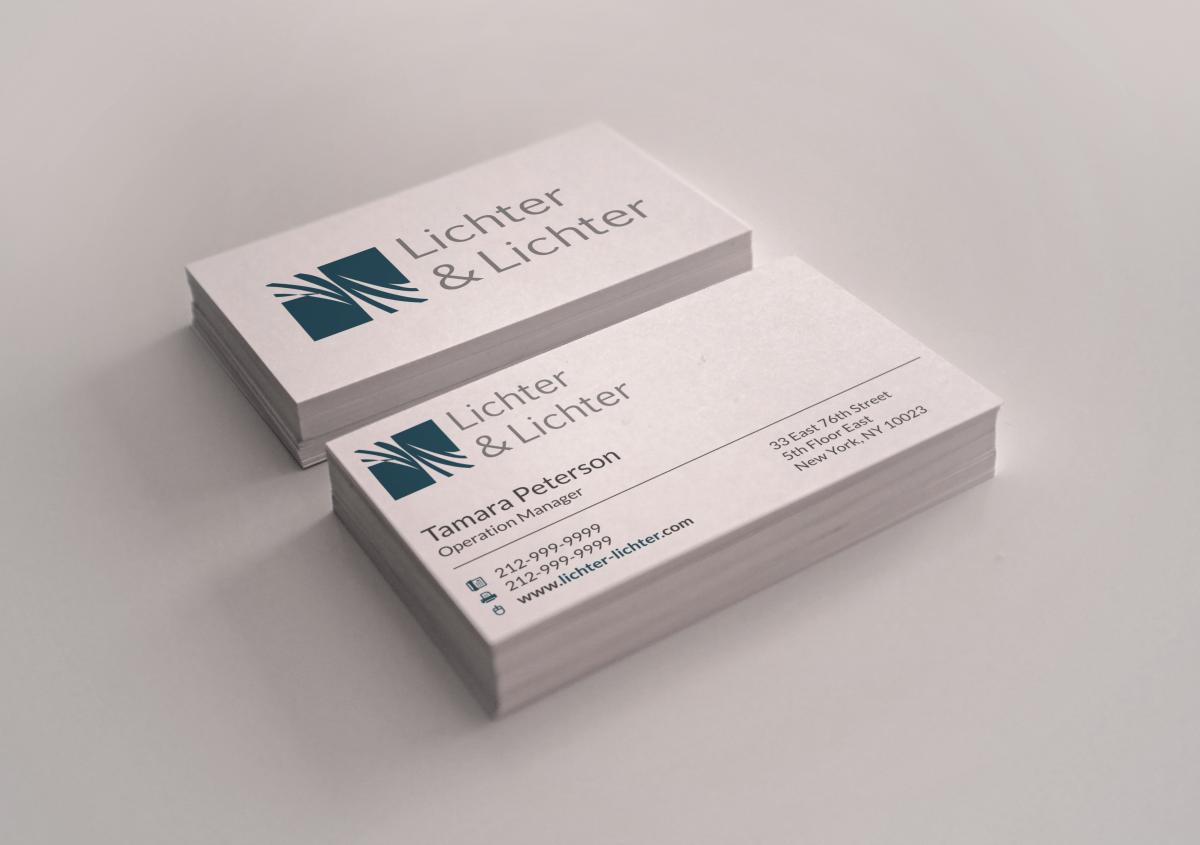 Professional, Elegant Business Card Design for J Schwartz by ...