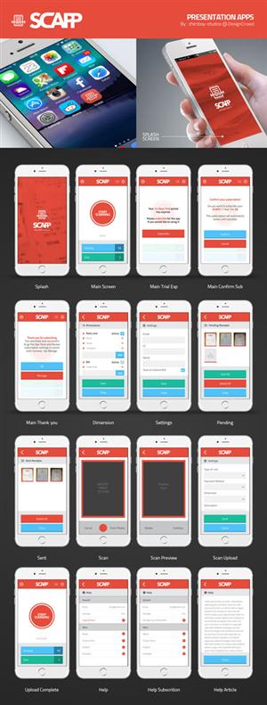 App Design by BillyAshgray - Design for iOS app - Scanner App