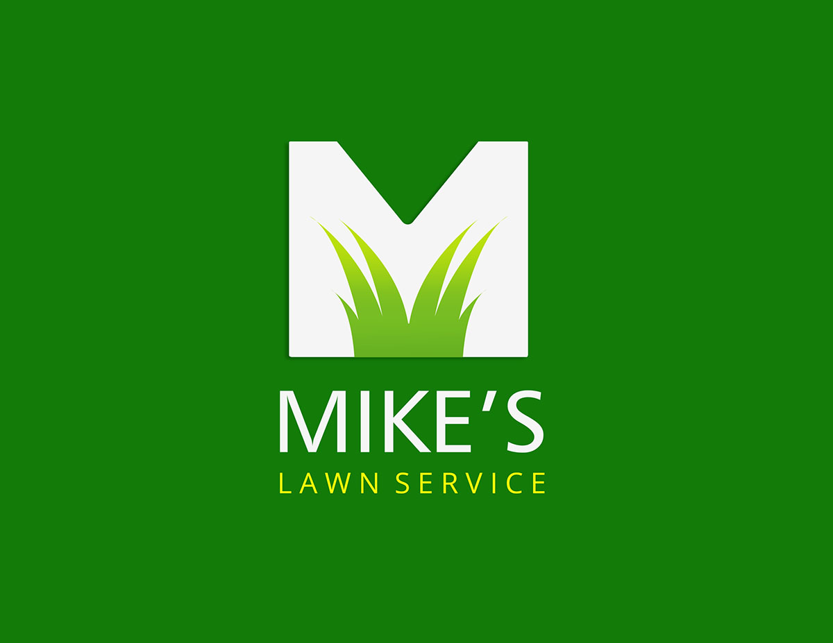 Professional modern logo design for mike thomas by for Garden maintenance logo