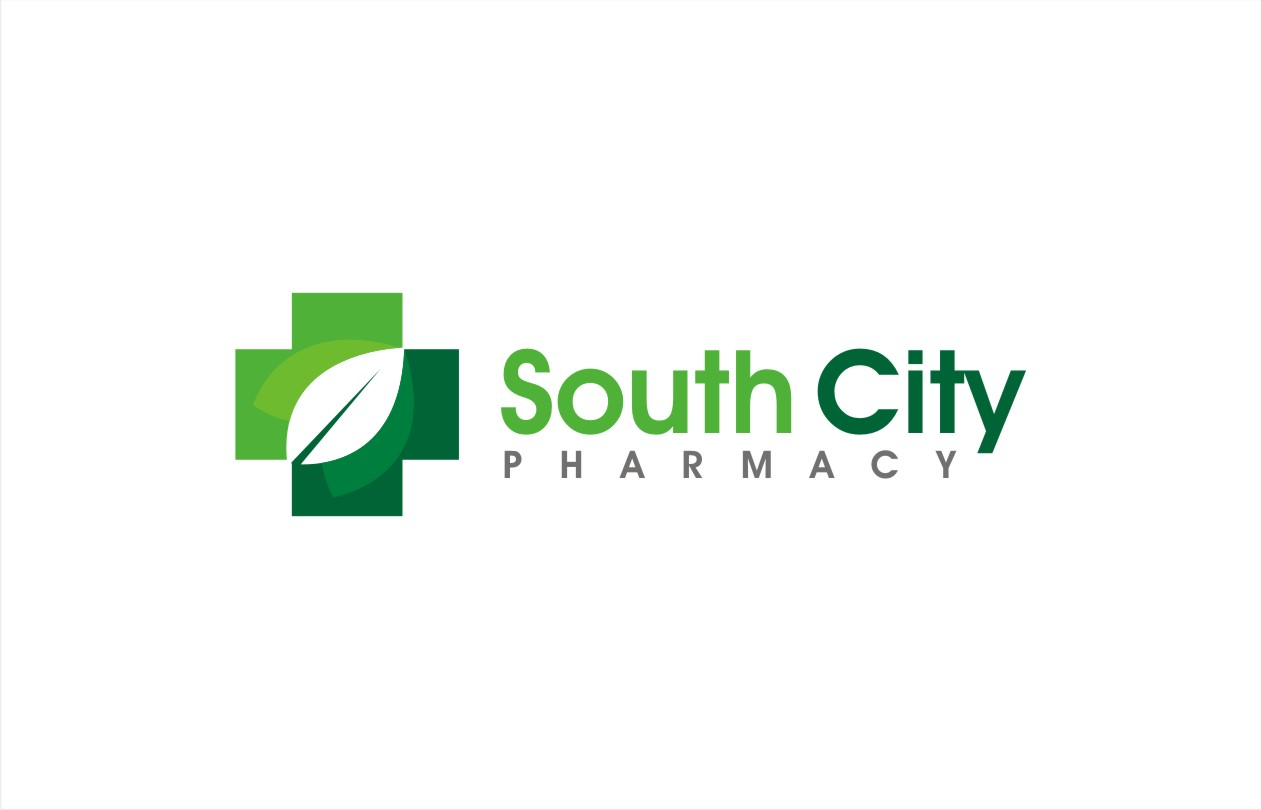 bold modern pharmacy logo design for south city pharmacy by hih7 rh designcrowd com pharmacist logo design pharmacy logo design vector