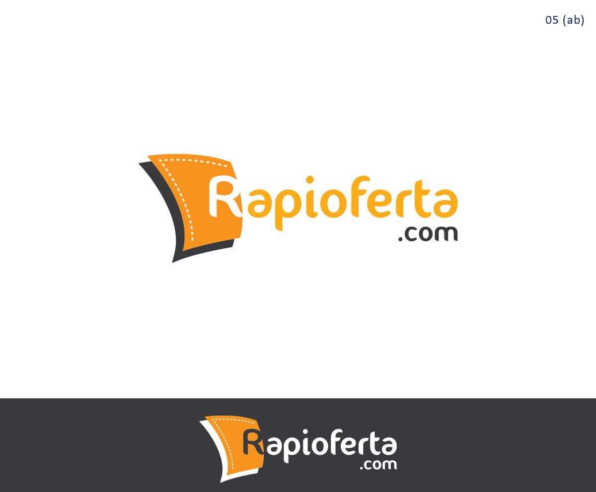 Traditional Bold Logo Design For Rapioferta Com By Esolbiz Design