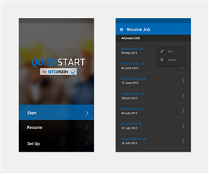 App Design by mxv.design - Quick Start Android App Design Required!