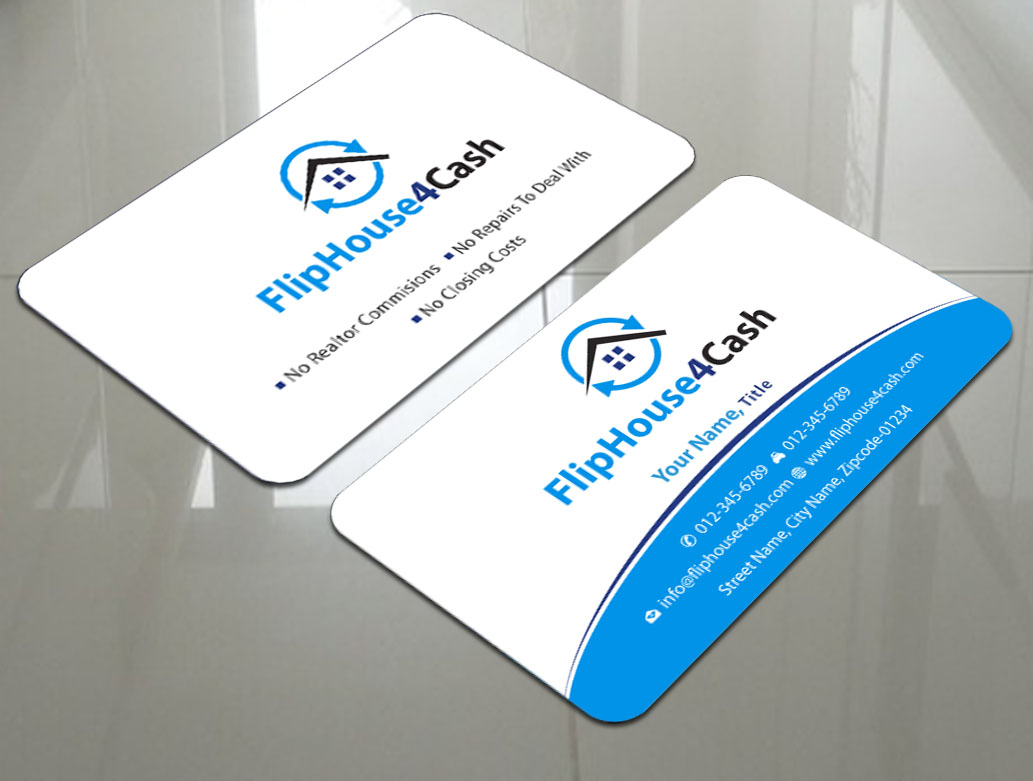 110 Professional Business Card Designs | Real Estate Business Card ...