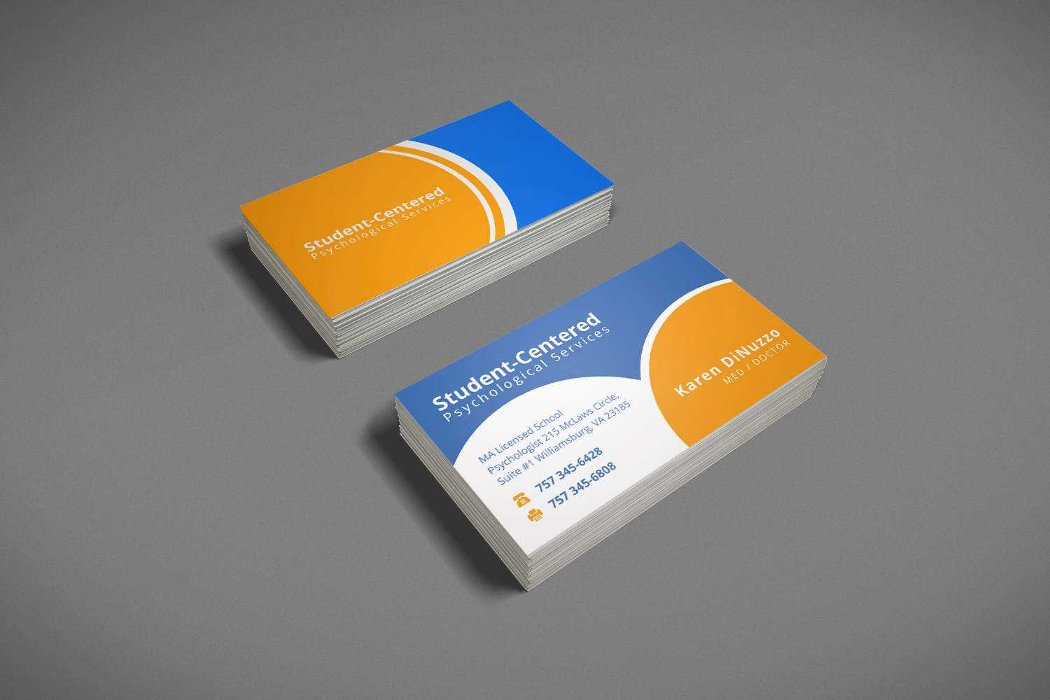 Business Business Card Design for a Company by Luchyan | Design #6310901