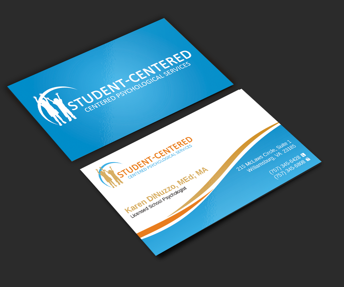 Business Business Card Design for a Company by -sanrell-™   Design ...