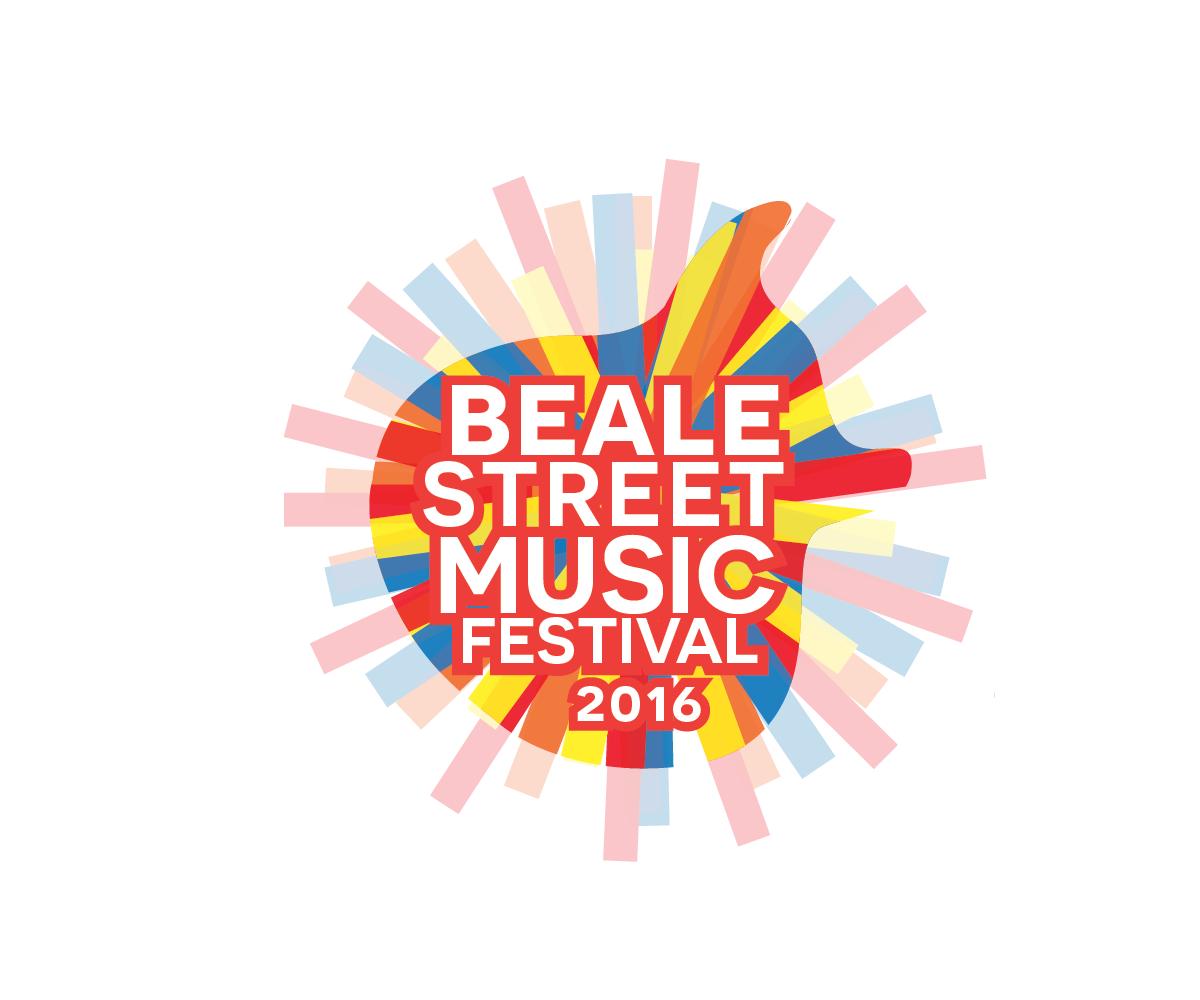 Festival Logo Design For 2016 Beale Street Music Festival