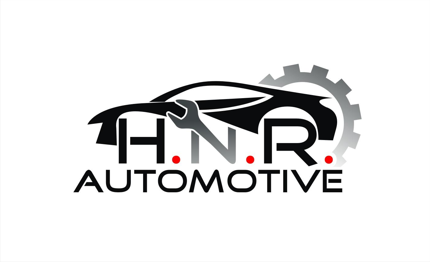 bold serious car repair logo design for h n r automotive by hih7 rh designcrowd com