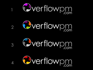 Logo Design job – Logo Design Overflow Construction Project Management – Winning design by REDcrackers.com