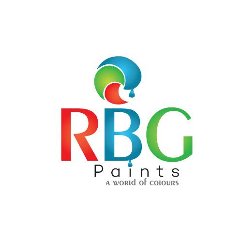 modern, colorful logo design for rbg paintsbeniwalsuman
