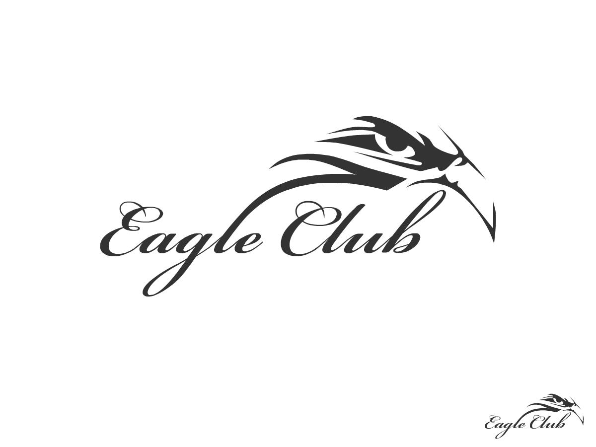 club logo design for eagle club by redcrackers com design 340424