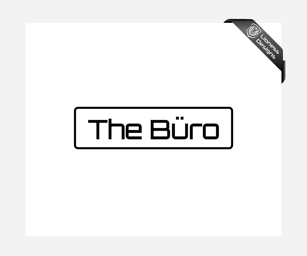 Bold Serious Business Logo Design For The Buro Including Umlaut