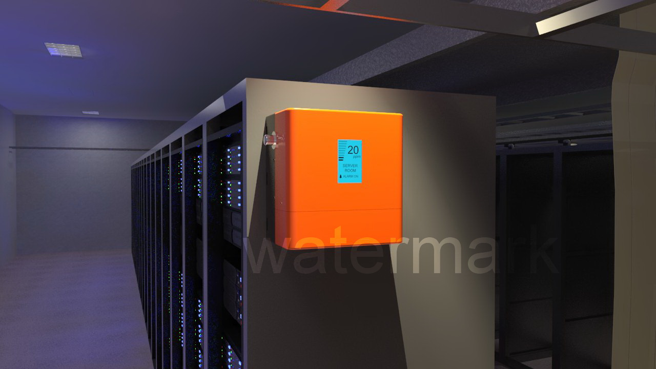 Bold, Modern, Fire Safety 3D Design for Altium Systems by