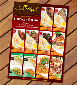 Food Menu Design | 1000\'s of Food Menu Design Ideas