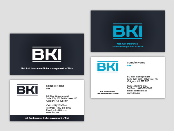 business business card design for a company in canada design 337472