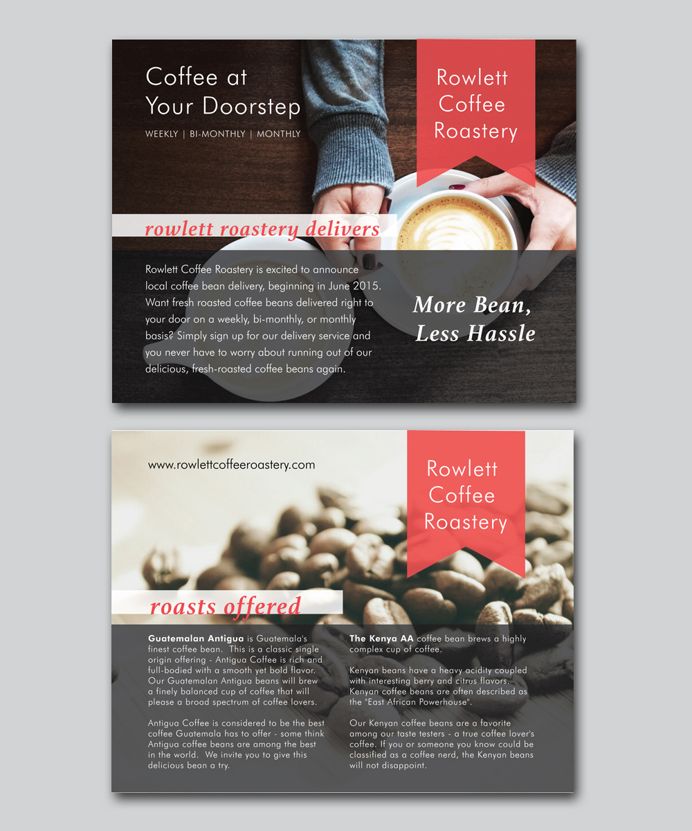 Conservative, Bold, Business Postcard Design for a Company by alewis ...