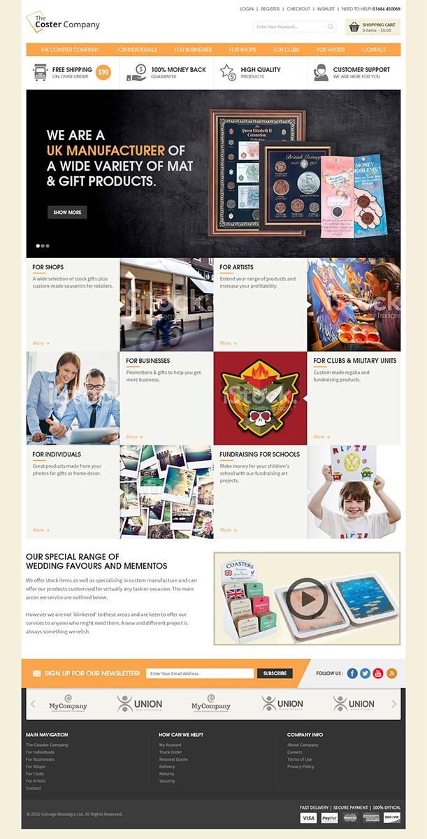 Professional Elegant Gift Shop Web Design For Network London By Rupaltechno Design 6512816