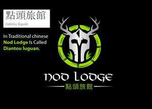 Elegant, Serious Logo Design for Nod Lodge at The Land of ...