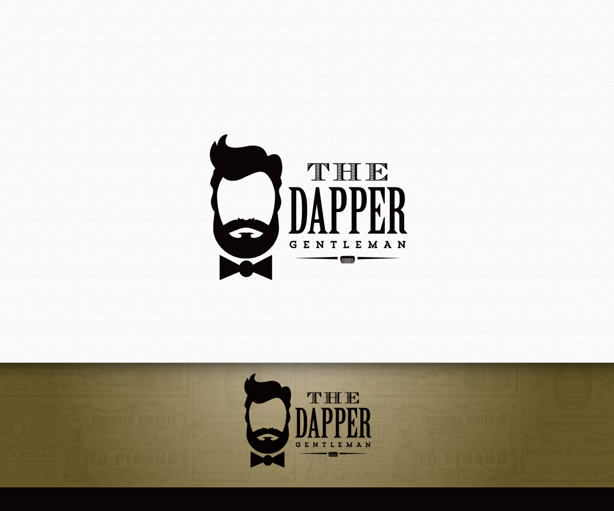 bold professional store logo design for the dapper gentleman by adsonix design 6337180. Black Bedroom Furniture Sets. Home Design Ideas