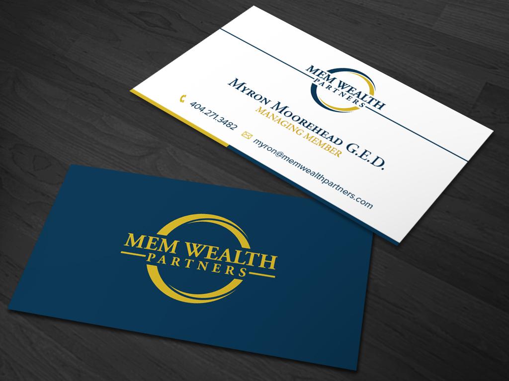 234 Modern Business Card Designs   Financial Business Card Design ...