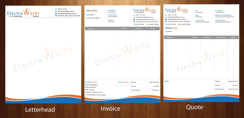 Letterhead Design By Harmi_199 For ** Custom Invoice, Quote U0026 Letterhead **     Invoice Letterhead