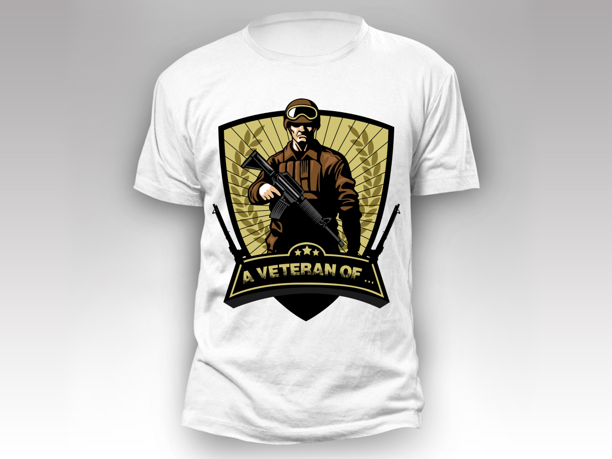 Bold masculine group t shirt design for a company by sd for Websites for designing t shirts
