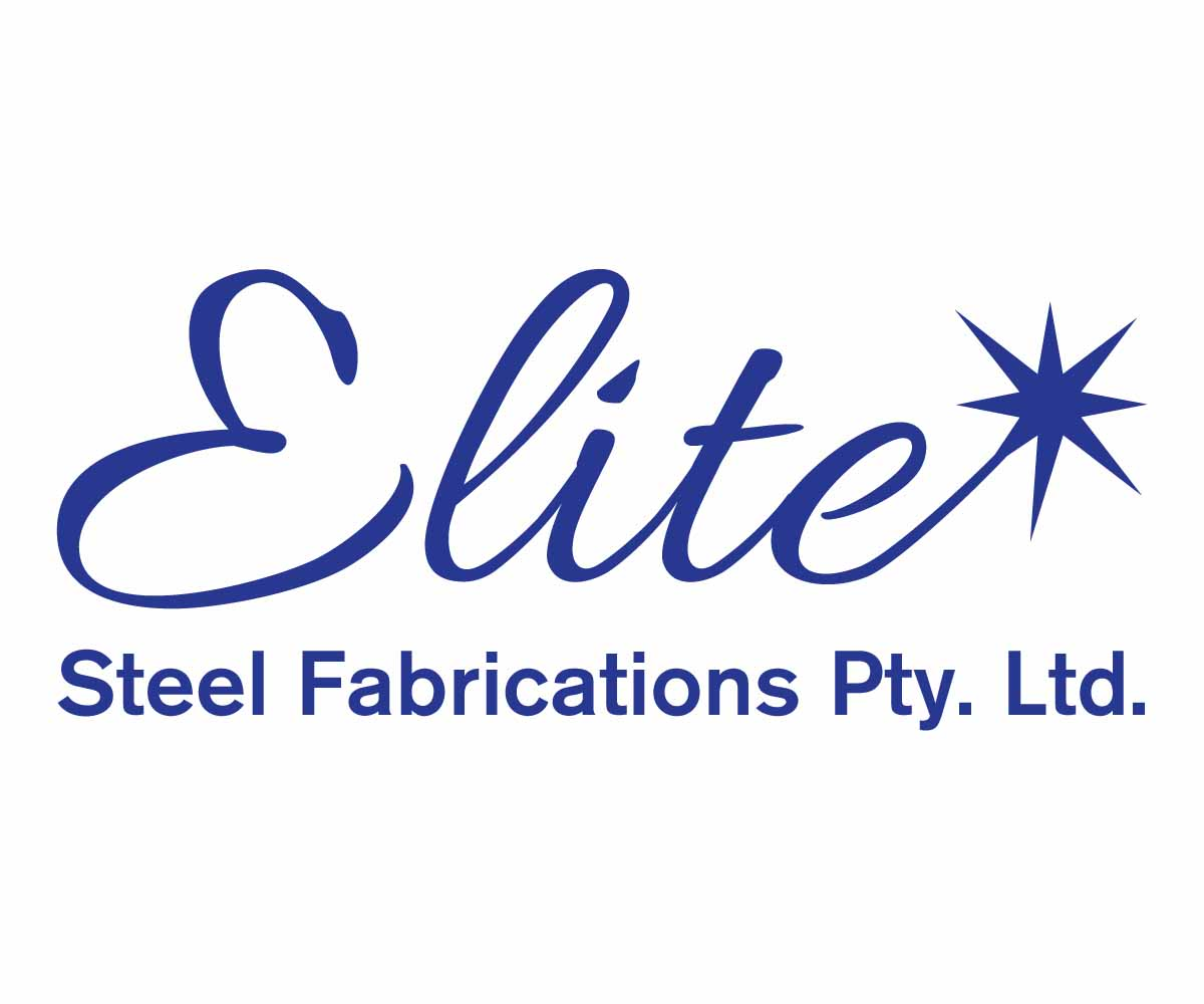 Steel logo design for elite steel fabrications pty ltd for Elite design