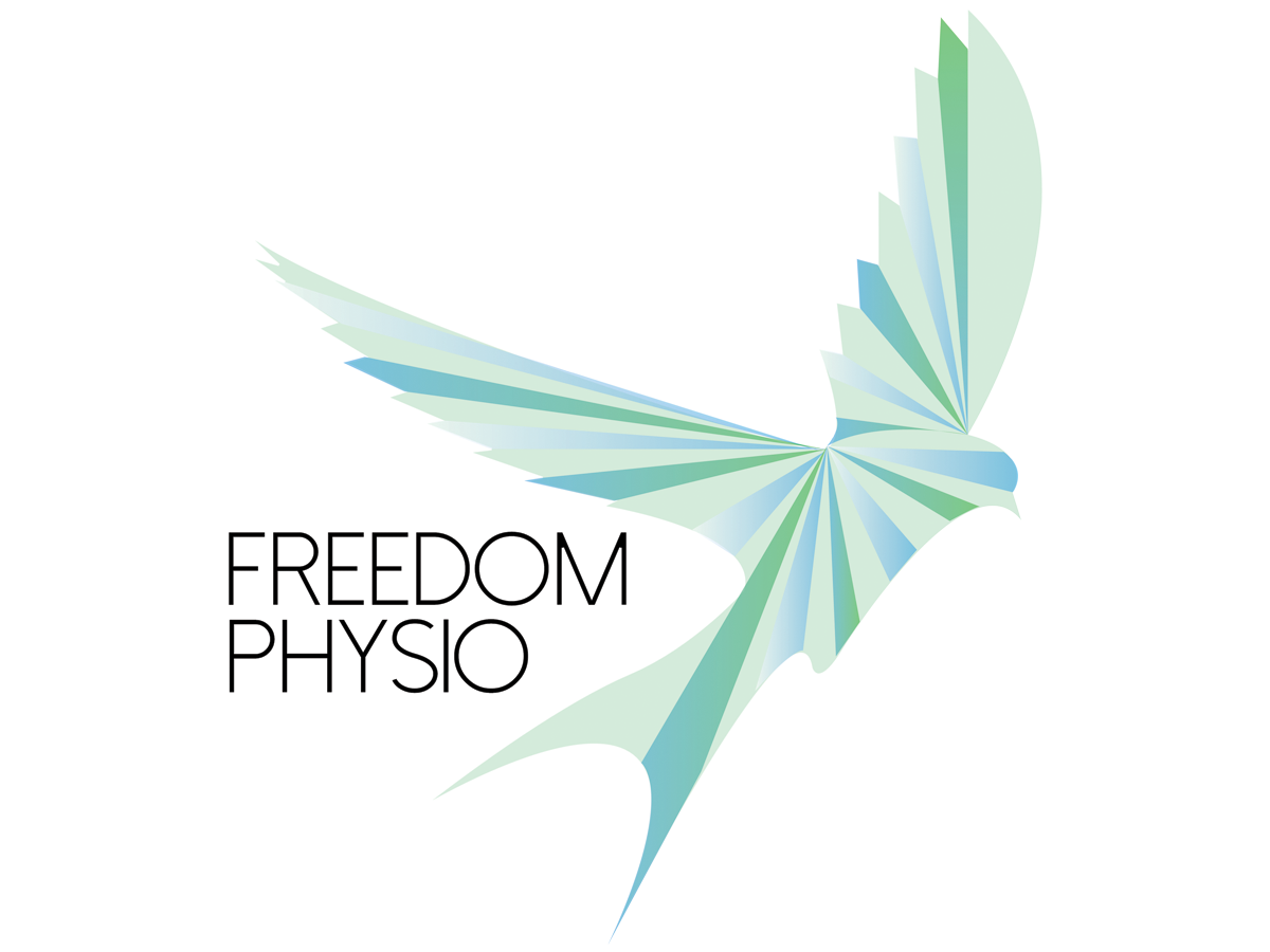 Serious Upmarket Physical Therapy Logo Design For Freedom