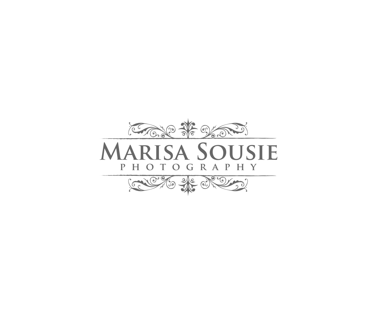 elegant feminine logo design for marisa sousie by