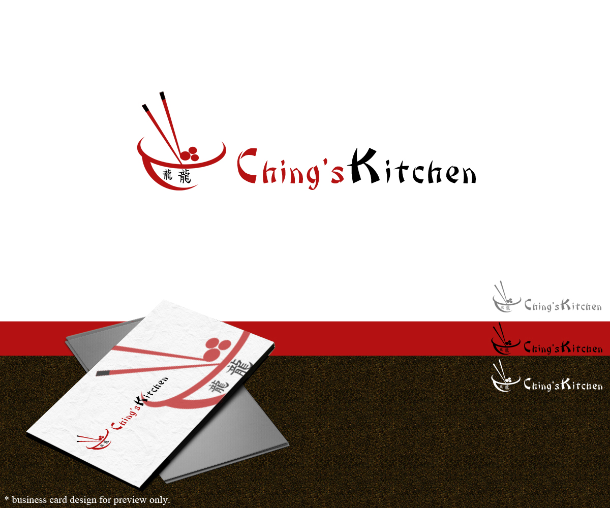 Custom Home Design Questionnaire Elegant Modern Logo Design For Ching S Kitchen By