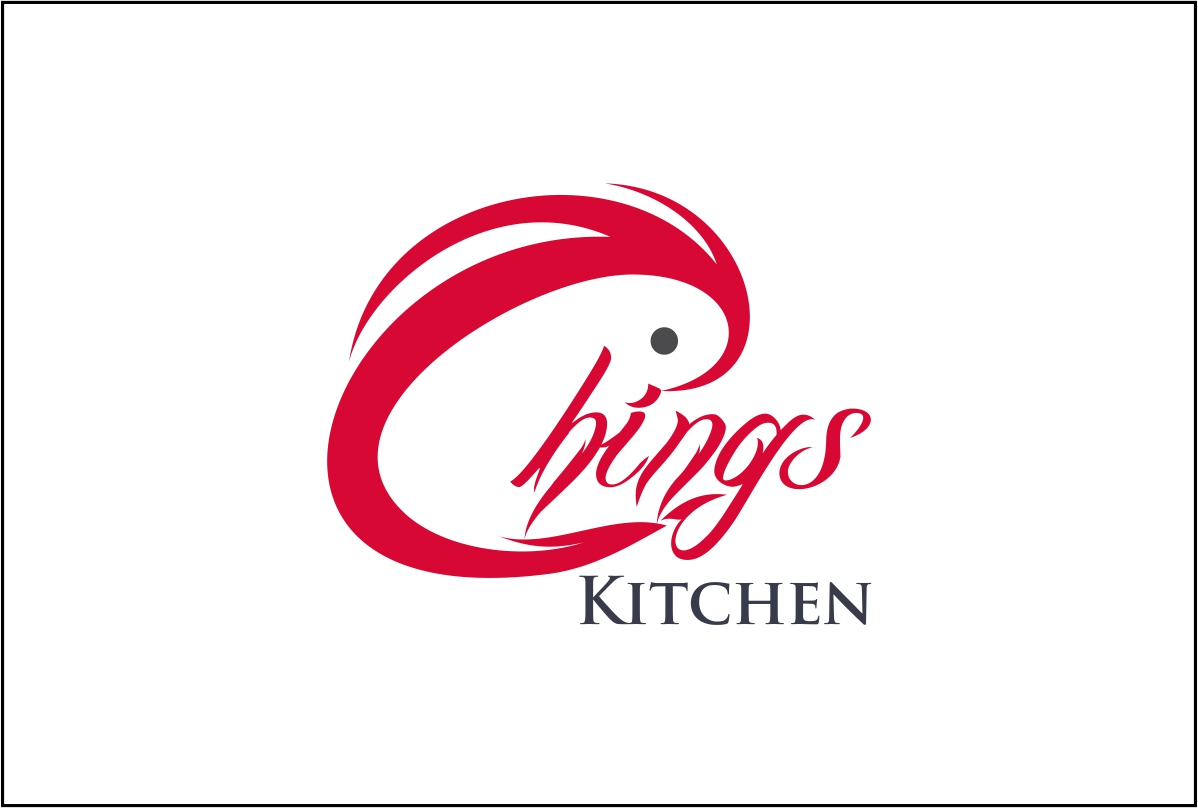 Elegant modern restaurant logo designs for ching s