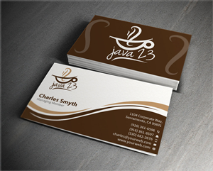 49 upmarket business card designs coffee shop business card design business card design by mediaproductionart for this project design 6363336 colourmoves