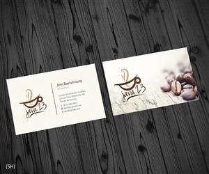 Coffee business card design 1000s of coffee business card design java 23 specialty coffee shop business card colourmoves