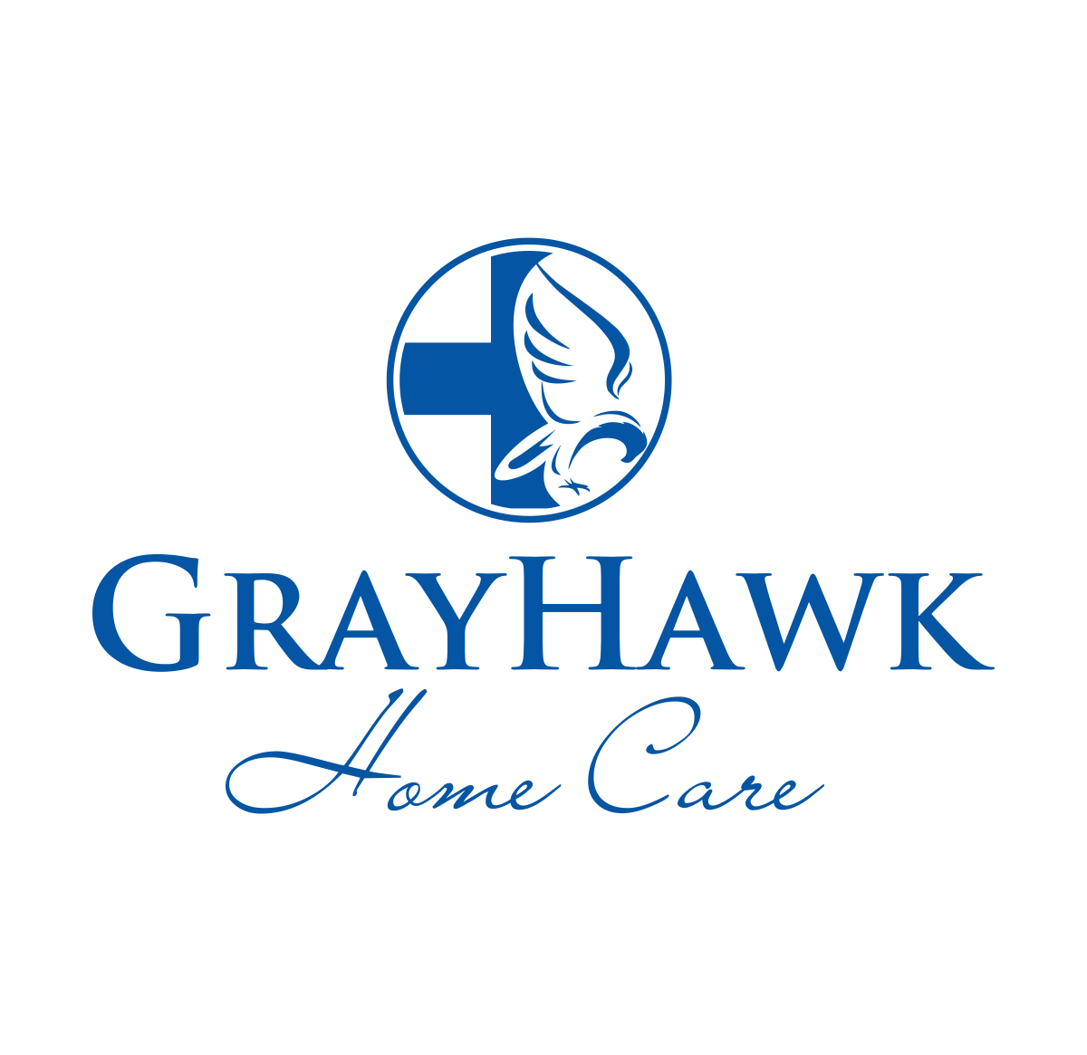 feminine serious home health care logo design for grayhawk home care by logo designer design. Black Bedroom Furniture Sets. Home Design Ideas