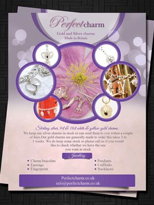 Grand Opening Jewelry Flyer Design | Crowdsourced Flyer Design ...