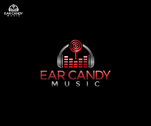 Graphic Design by DvynaArt - Ear Candy Music - Logo For Music Rehearsal Studio