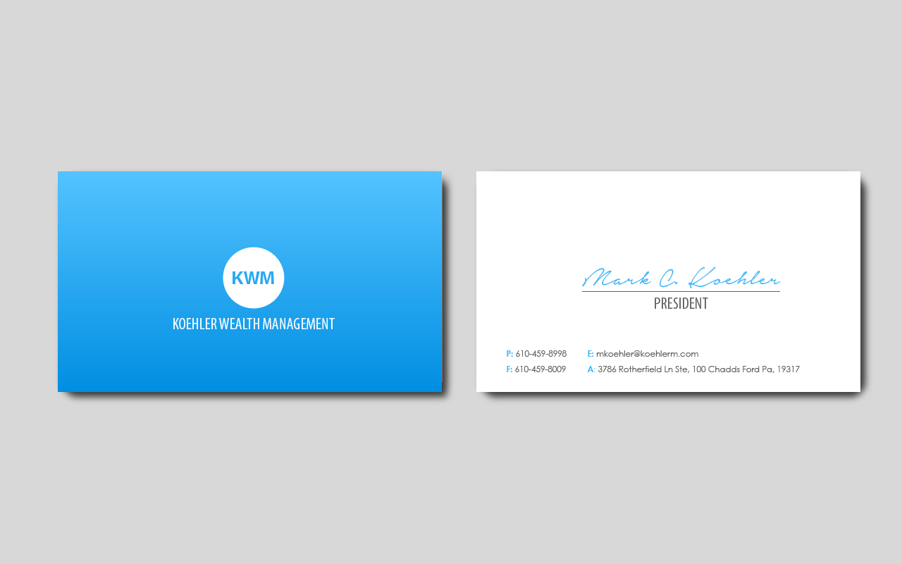 Business Business Card Design for a Company by Vinh N. | Design #6374816