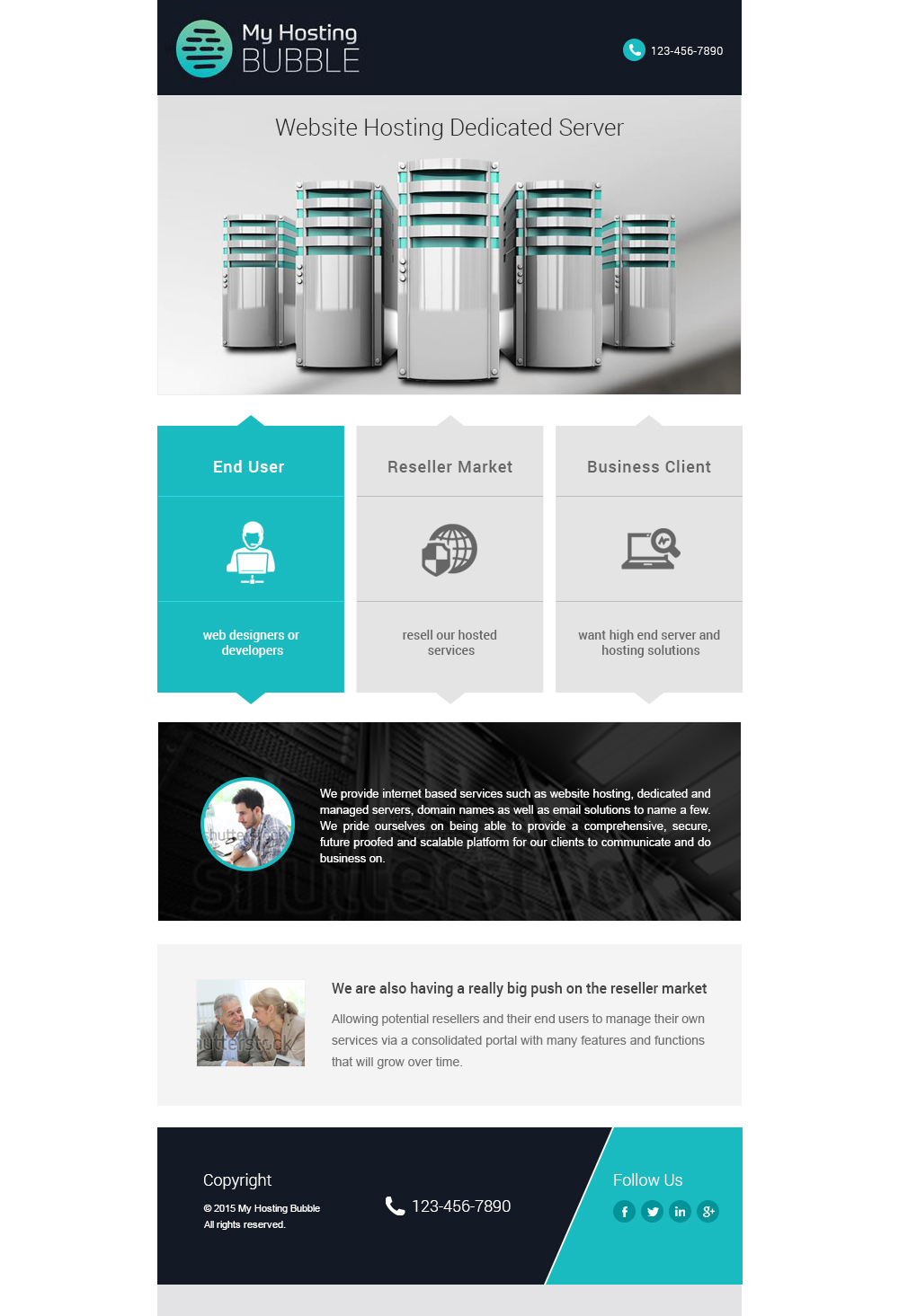 Project Launch Email Web Design