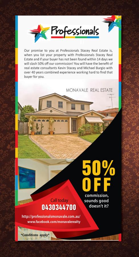 elegant playful real estate flyer design for professionals stacey
