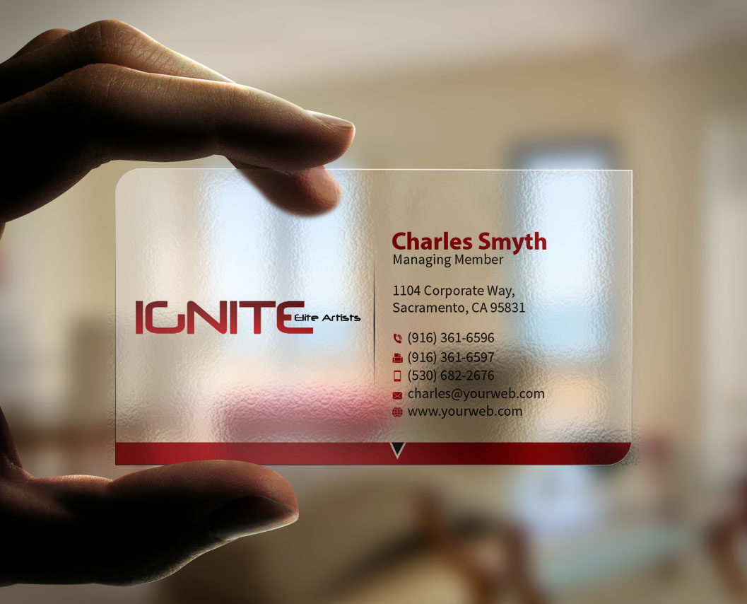 84 modern business card designs film production business card business card design by mediaproductionart for ignite elite artists design 6379685 colourmoves